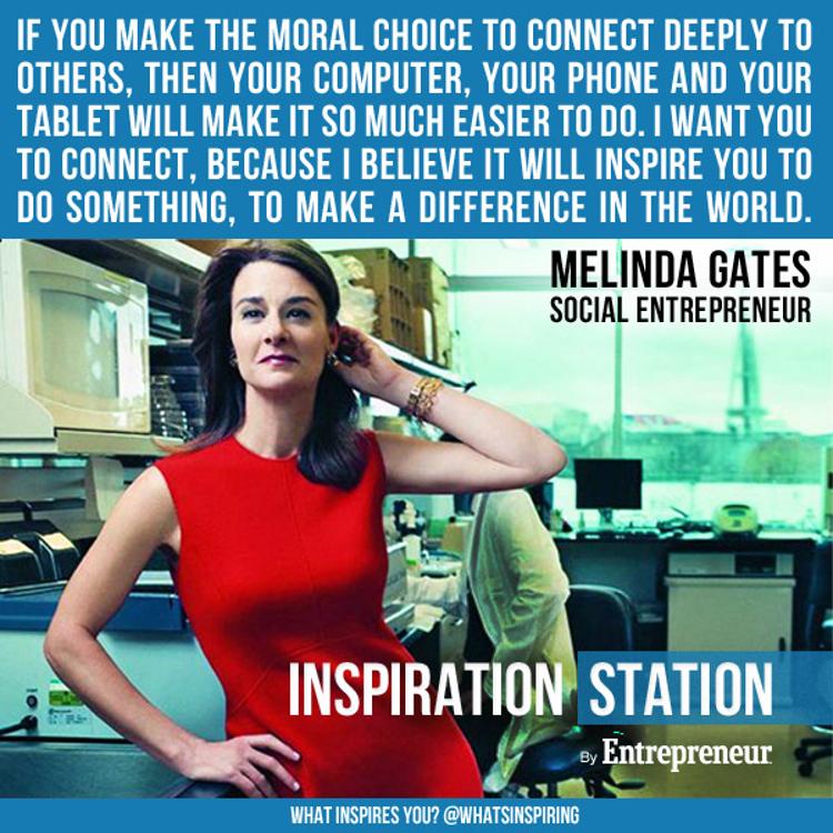 Melinda Gates's quote #1