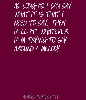 Melody quote #7