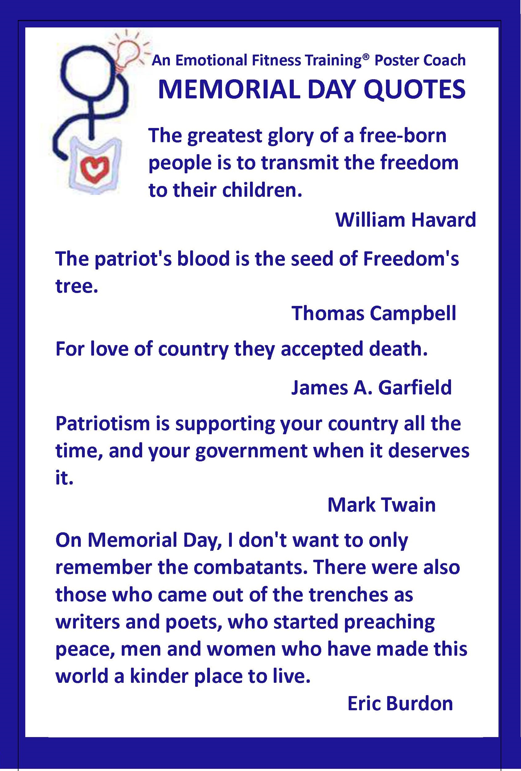 Memorial Day quote #1