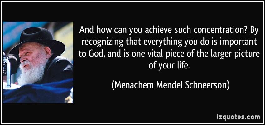 Menachem Mendel Schneerson's quote #4