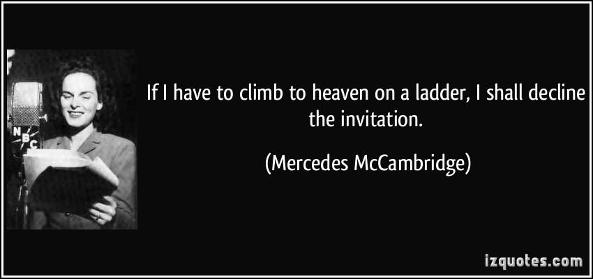 Mercedes McCambridge's quote #6