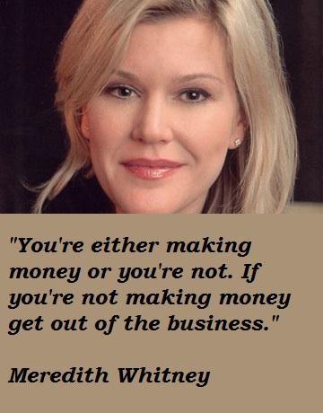 Meredith Whitney's quote #5