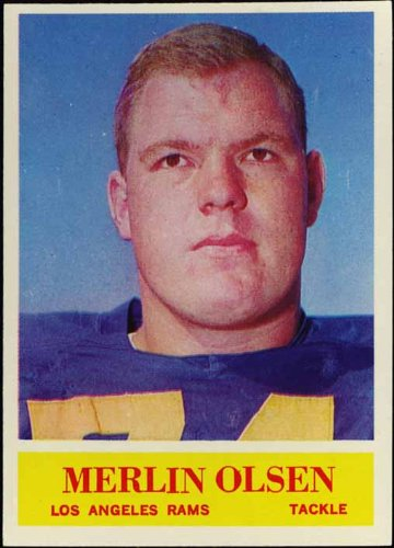 Merlin Olsen's quote #1