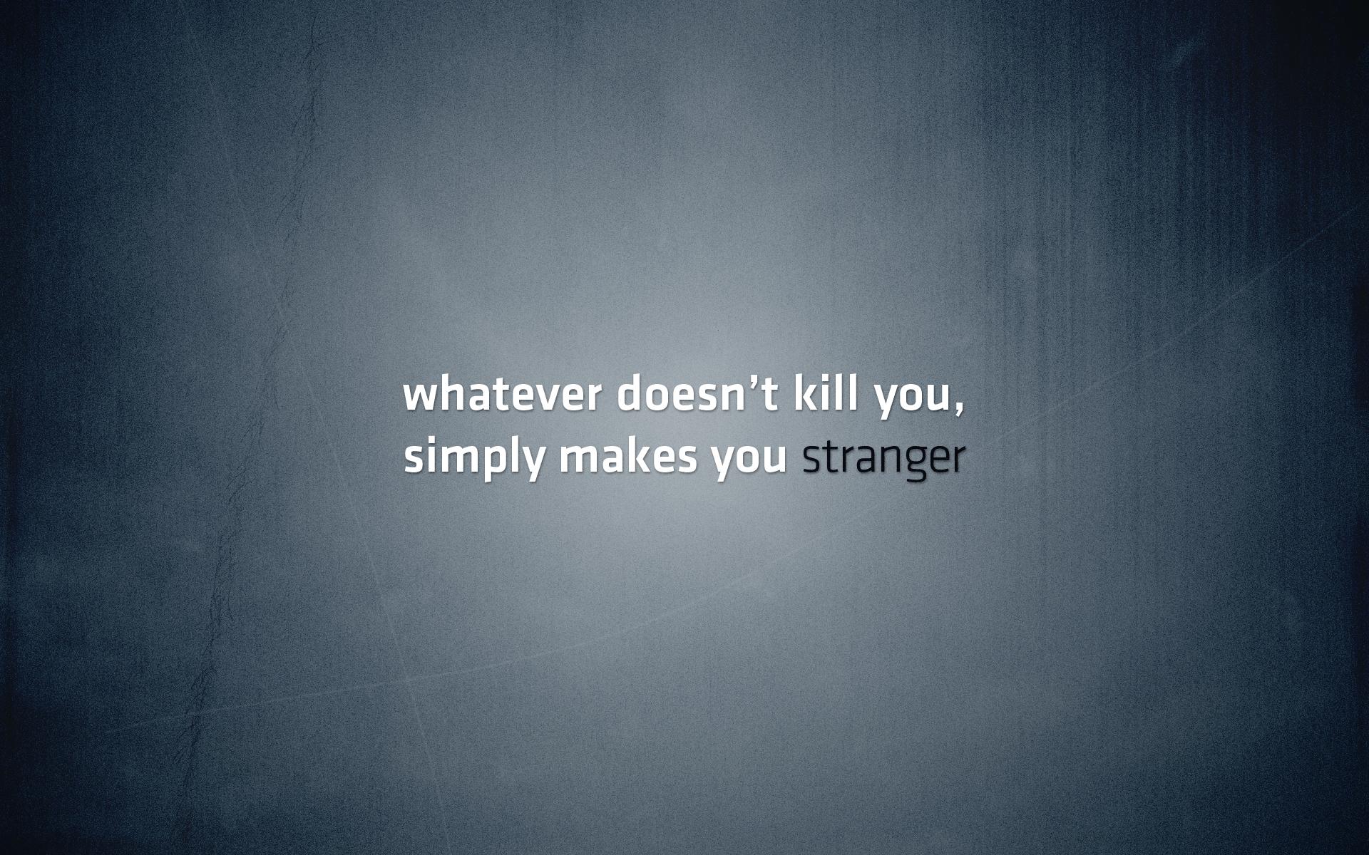 Metallic quote