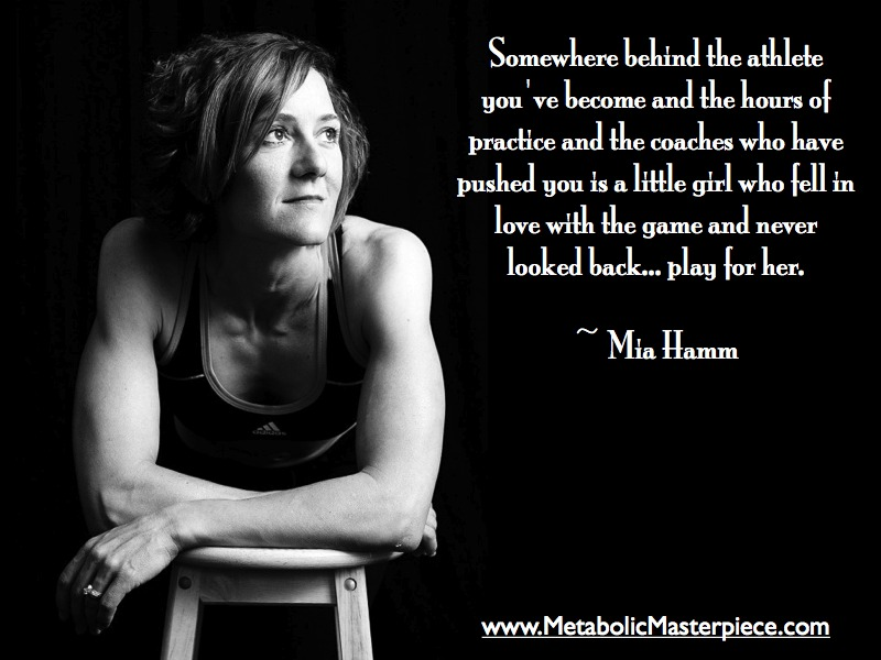 Mia Hamm's quote #2