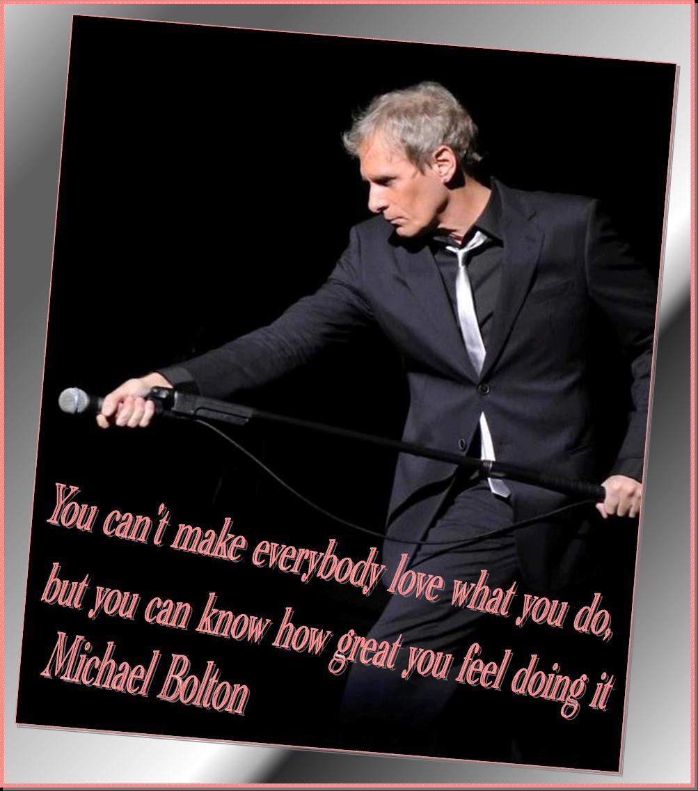 Michael Bolton's quote #7