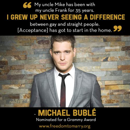 Michael Buble's quote #5