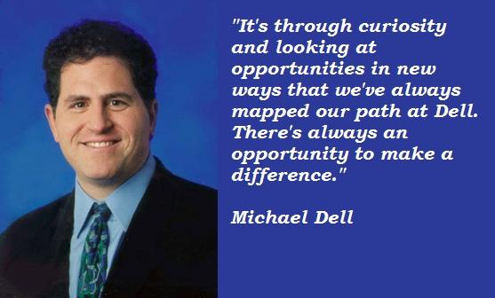 Michael Dell's quote #1