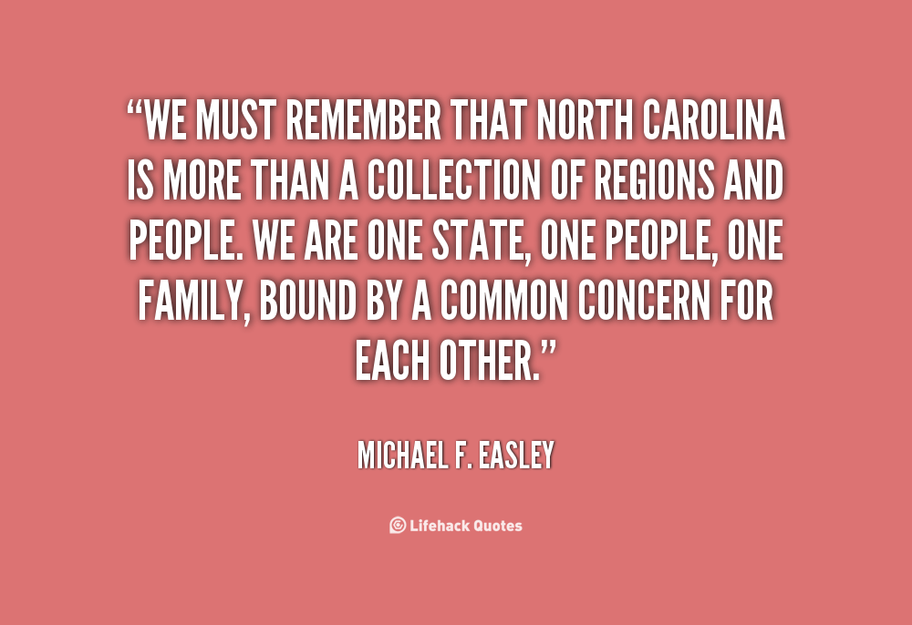 Michael F. Easley's quote #3