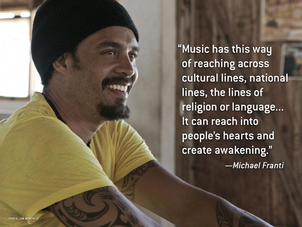 Michael Franti's quote #5