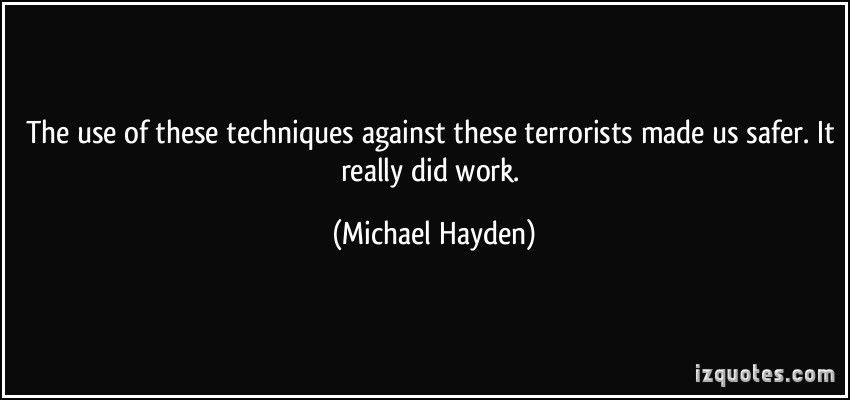 Michael Hayden's quote #1