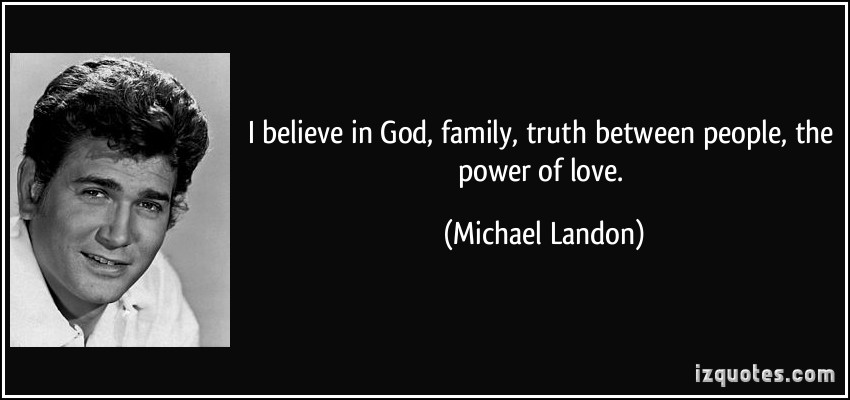 Michael Landon's quote #4