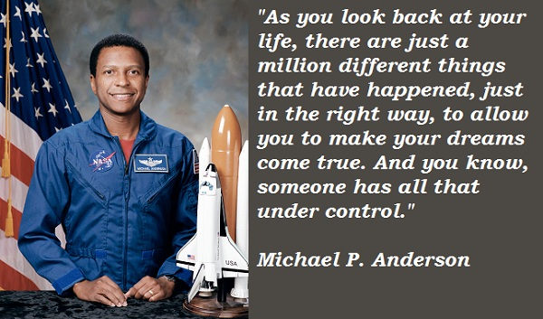 Michael P. Anderson's quote #2