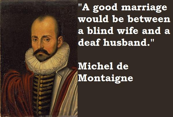 Michel de Montaigne's quote #1
