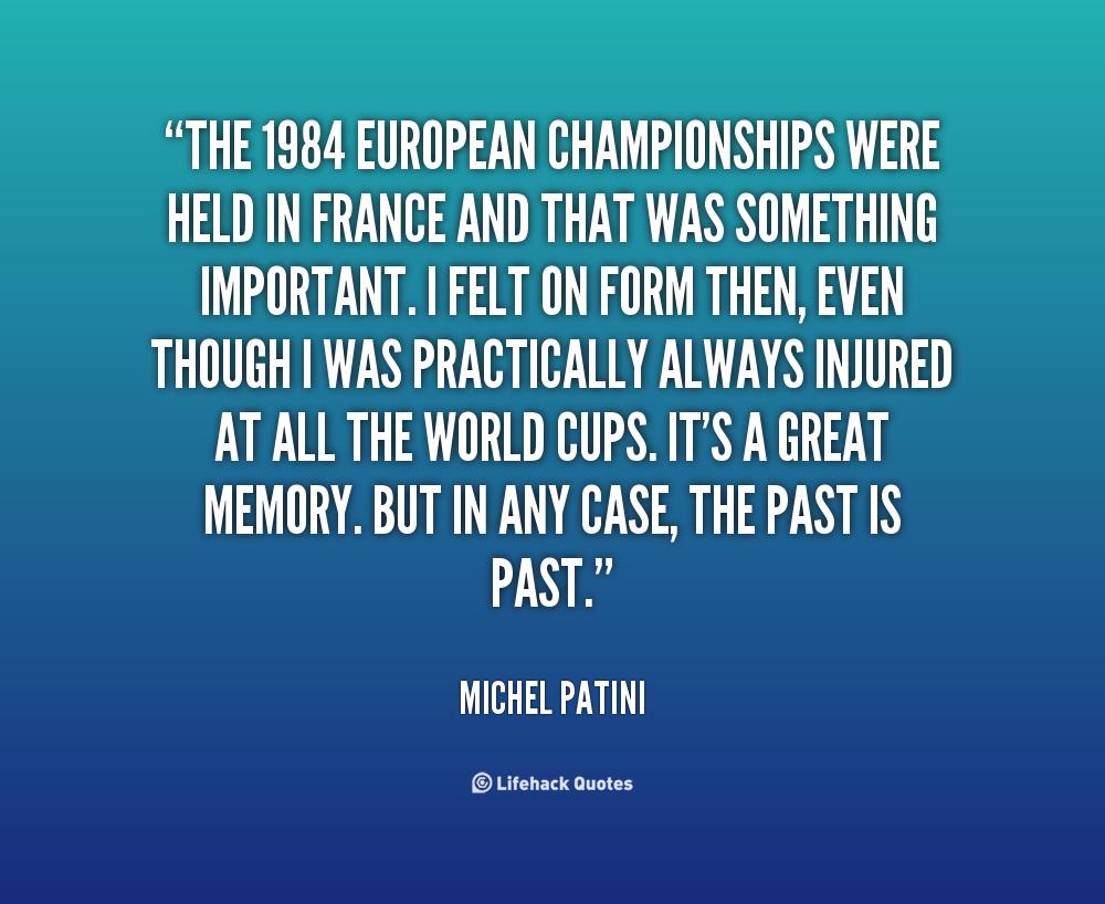 Michel Patini's quote #8