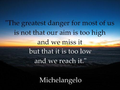Michelangelo quote #1