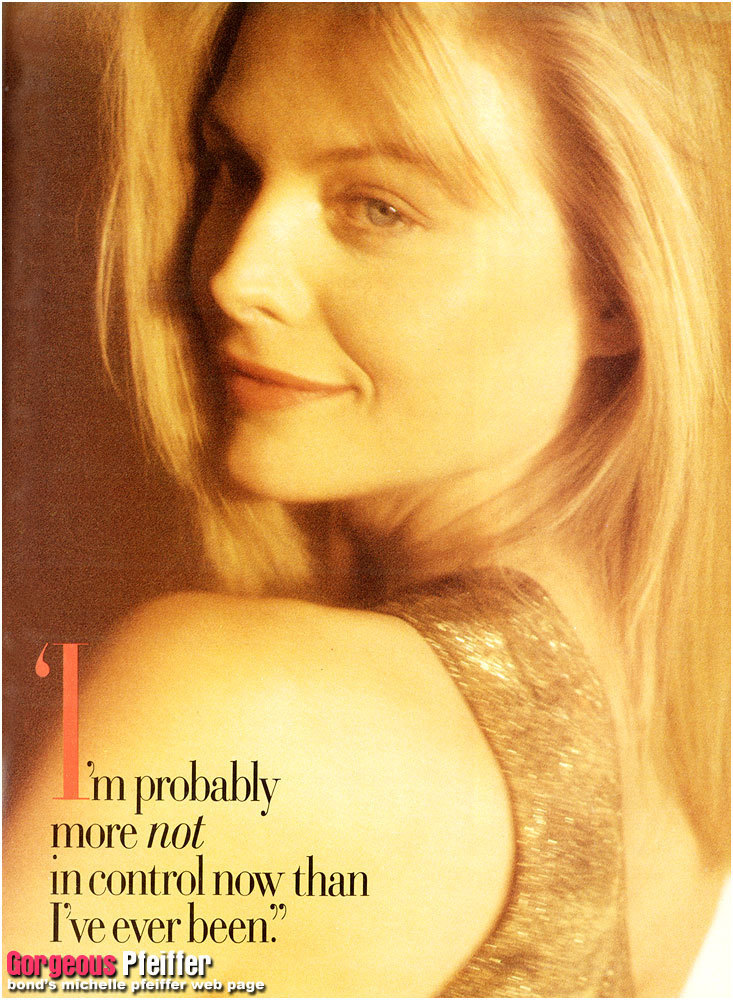 Michelle Pfeiffer's quote #2