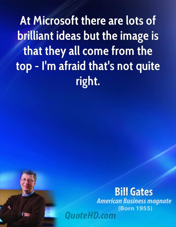 Microsoft quote #2