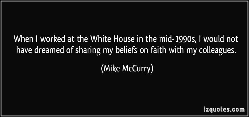 Mike McCurry's quote #3