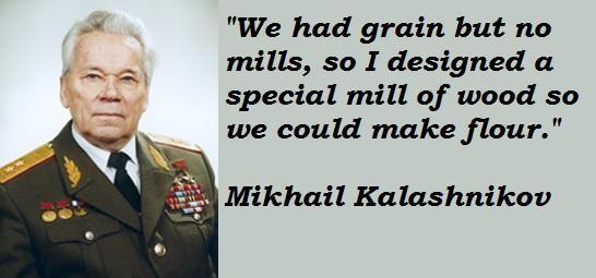 Mikhail Kalashnikov's quote #3