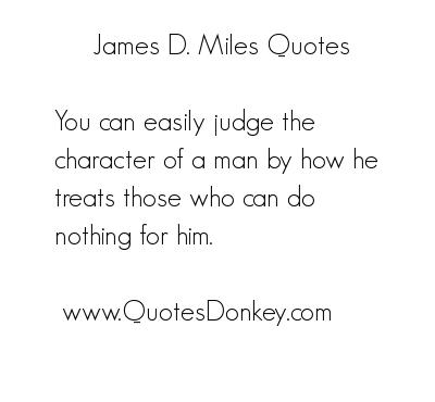 Miles quote #7
