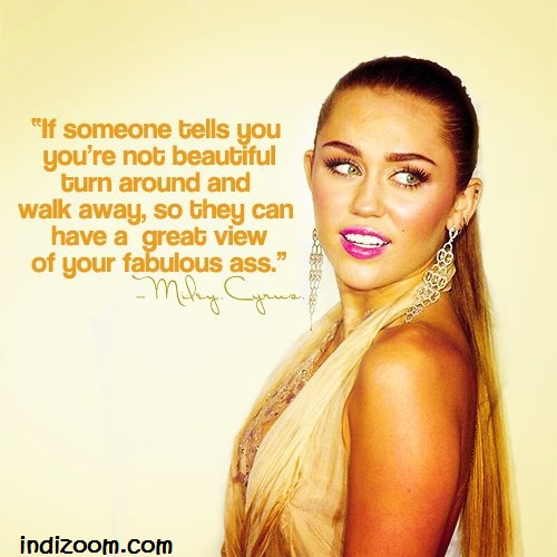 Miley Cyrus's quote #3