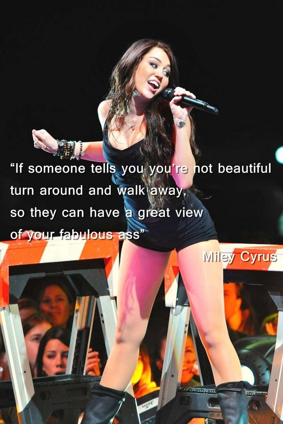 Miley Cyrus's quote #7