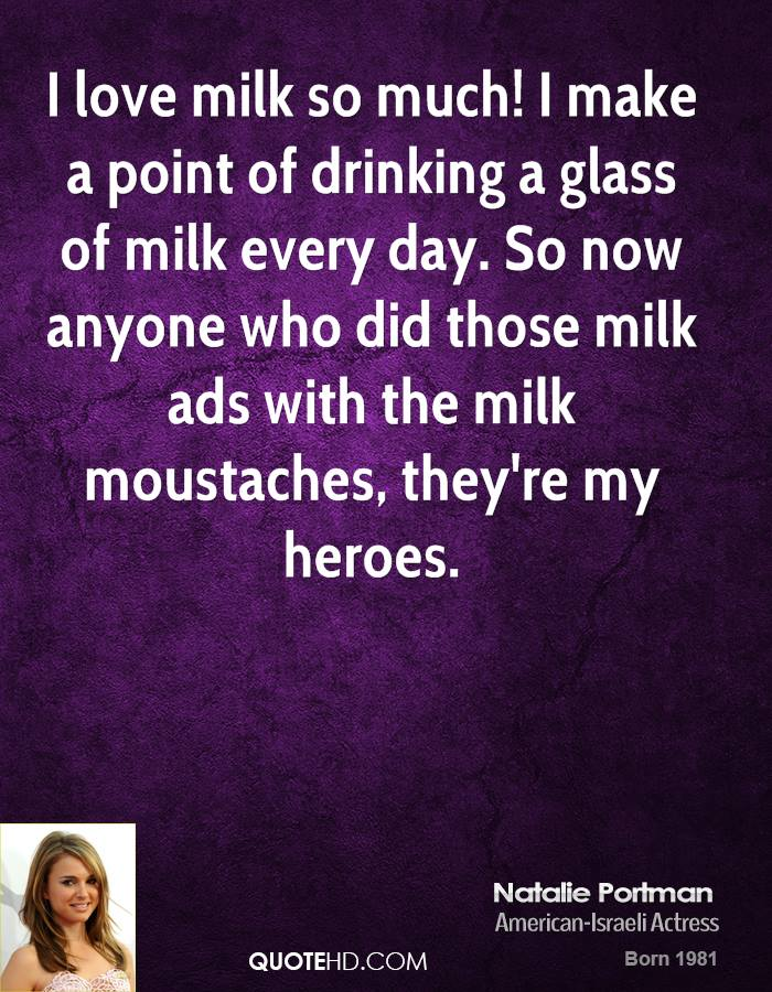 Milk quote #4