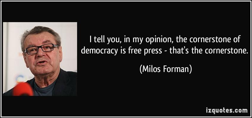 Milos Forman's quote #5