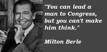 Milton Berle's quote #1