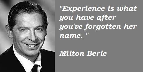 Milton Berle's quote #2