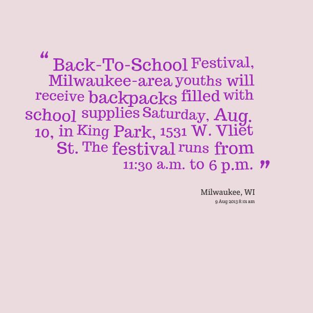 Milwaukee quote #2