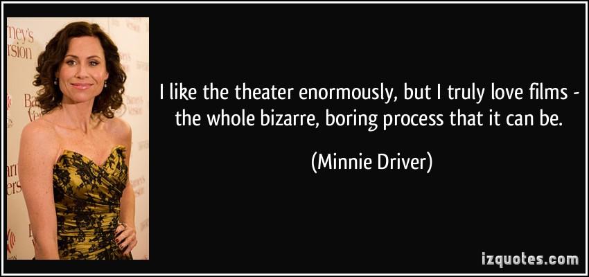 Minnie Driver's quote #3