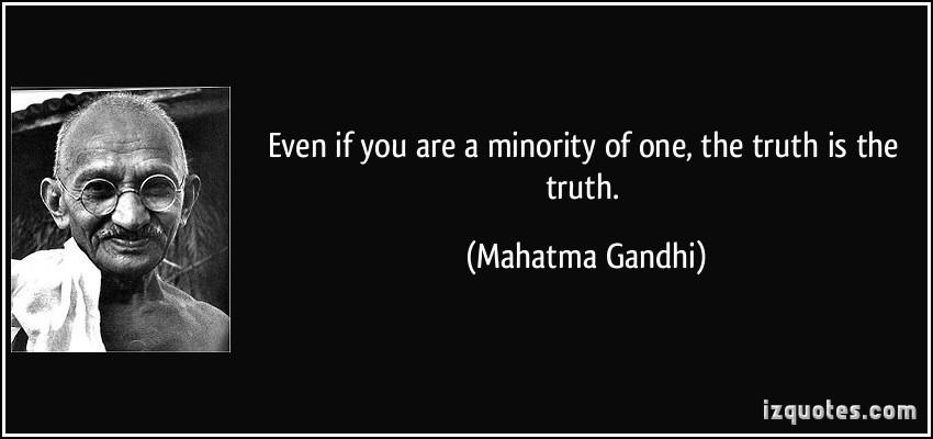 Minority quote #1