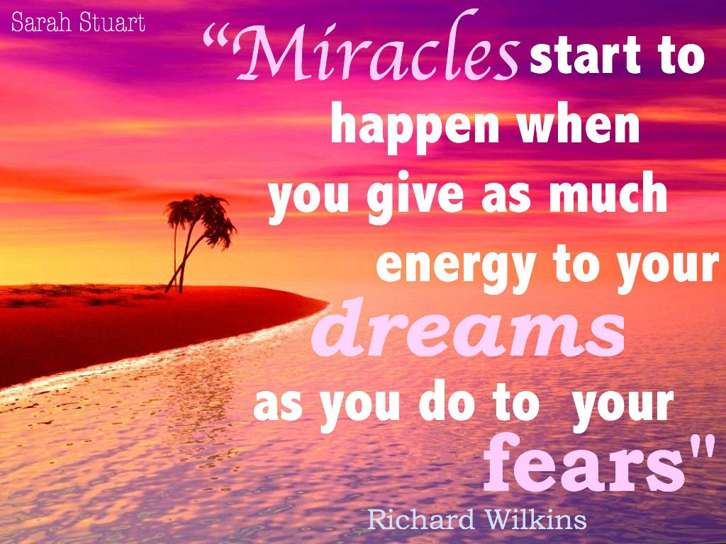 Miracles quote #2