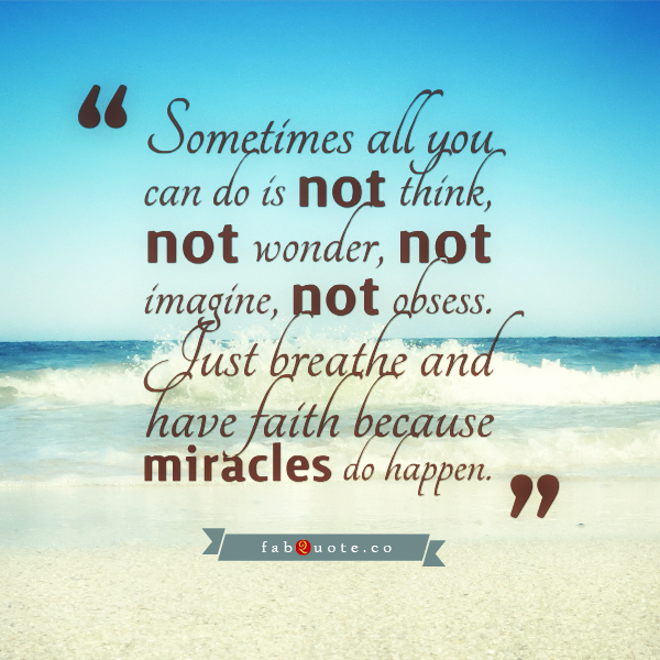 Miracles quote #7