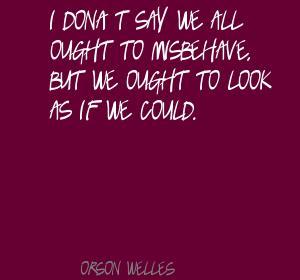 Misbehave quote #1