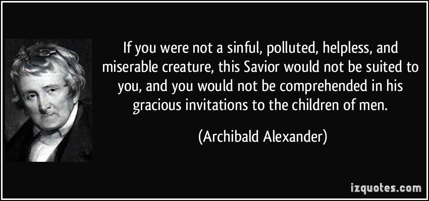 Miserable Creature quote #1