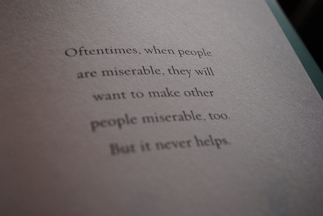 Misery Loves Company quote #1