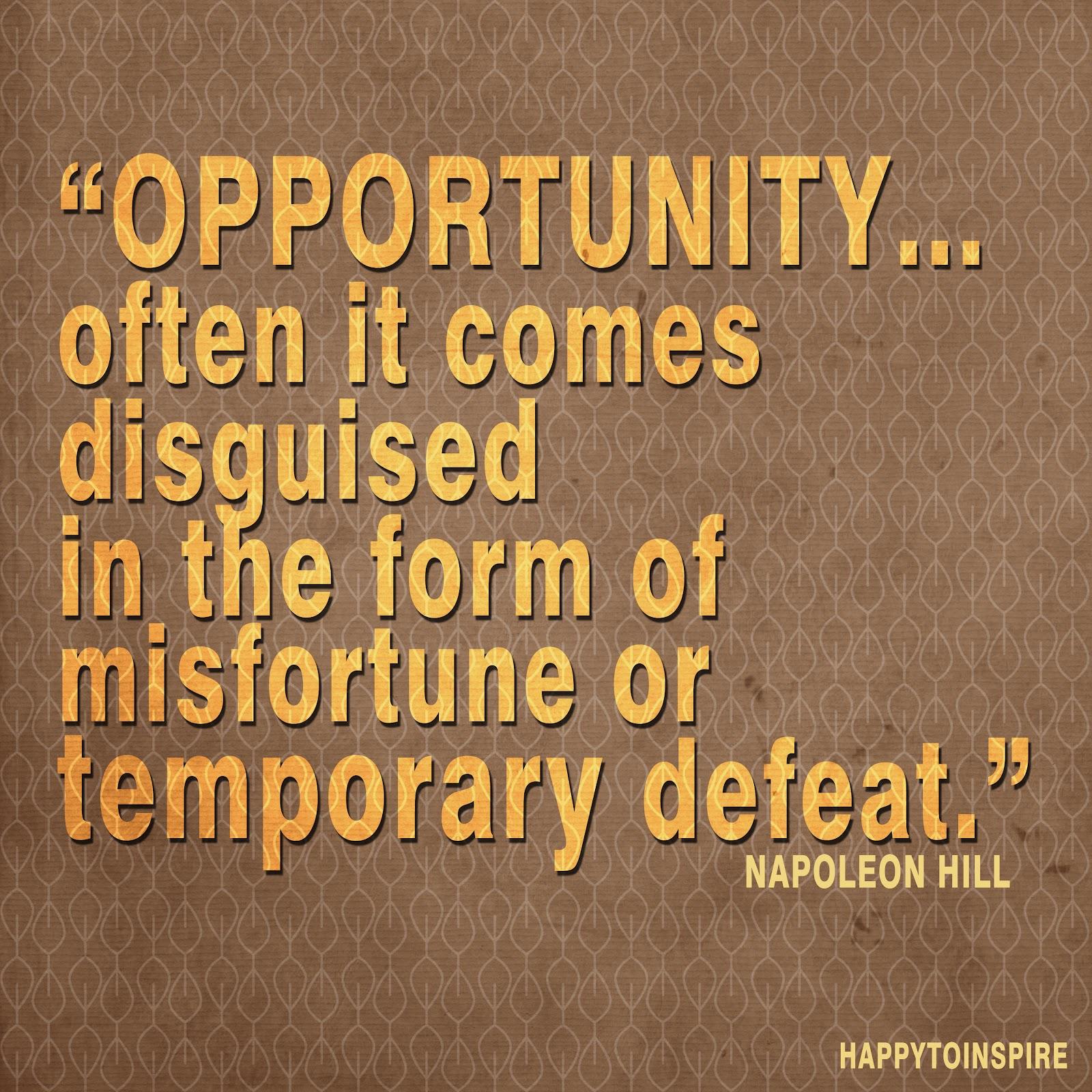Misfortune quote #3