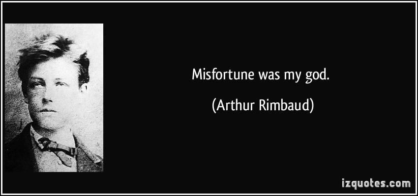 Misfortune quote #1