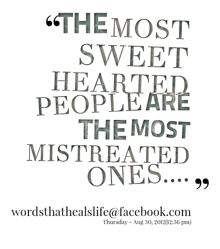 Mistreated quote #1