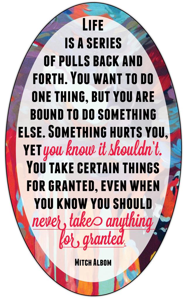 Mitch Albom's quote #5