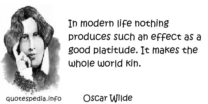 Modern Life quote