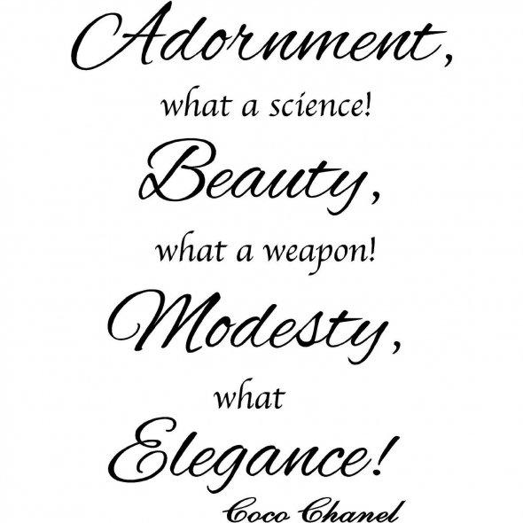 Modest quote #8