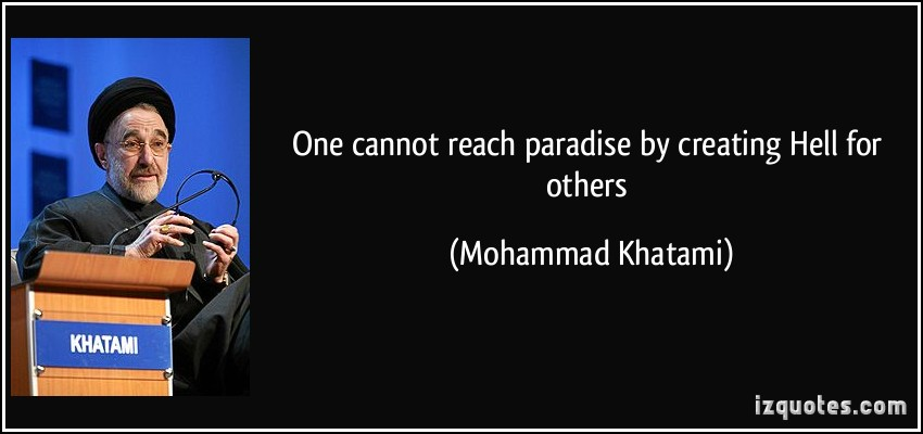 Mohammad Khatami's quote #2