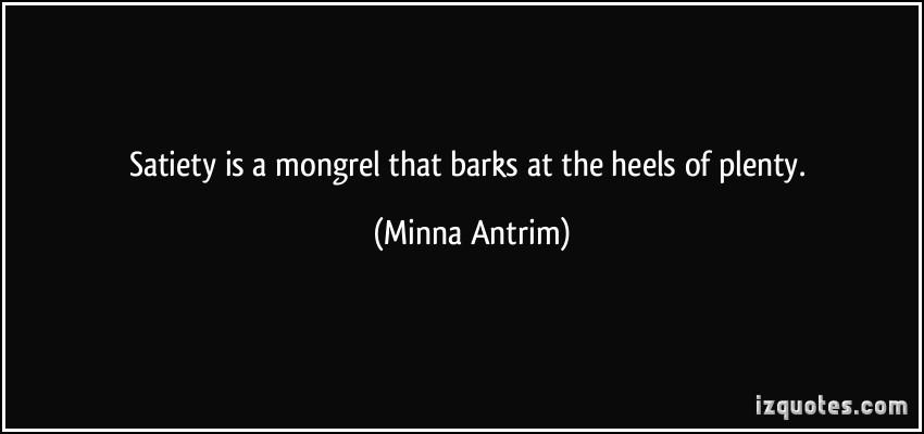 Mongrel quote #1
