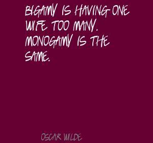 Monogamous quote #2
