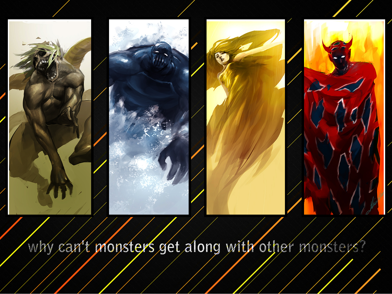 Monsters quote #1