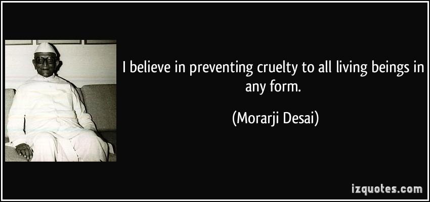 Morarji Desai's quote #7